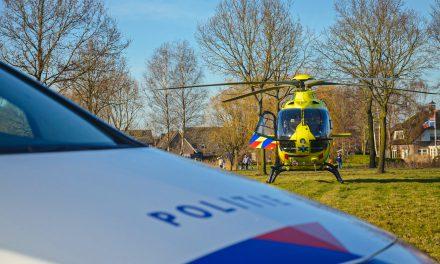 Traumahelikopter ingezet bij ongeval in Stadskanaal