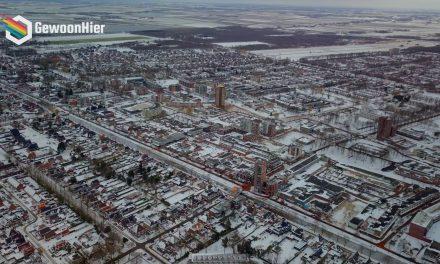 🎥 Sneeuwwit Stadskanaal vanuit de lucht [VIDEO]