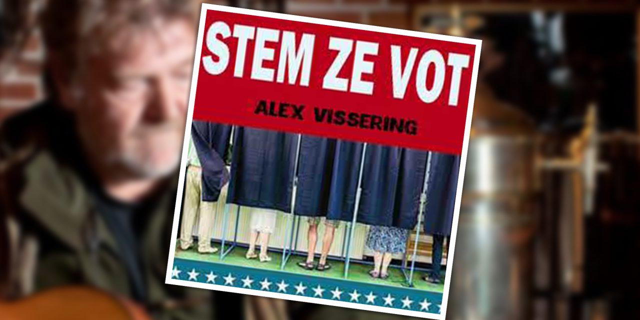 Troebadoer Alex Vissering Stemt ze vot!