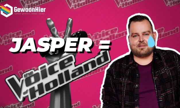Jasper Wever's avontuur in The Voice of Holland stopt