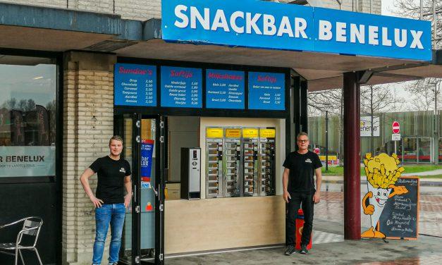 Snackbar Benelux tijdelijk in functie elders.
