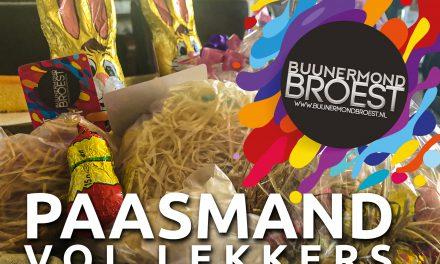 Win een goedgevulde paasmand van Buunermond Broest!