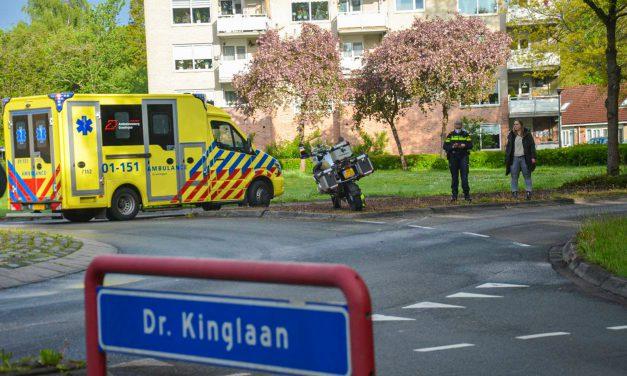 Motorrijder glijdt tegen andere auto in Stadskanaal