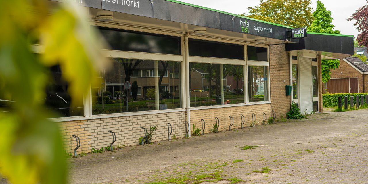 Verwaarloosde supermarkt Nieuw-Buinen gaat tegen de vlakte