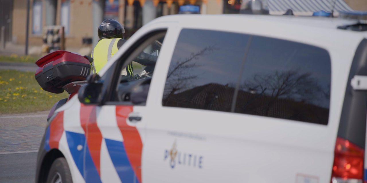 Grote politiecontrole in Nieuw-Buinen, voertuigen van de weg gehaald