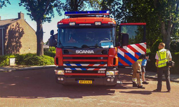 Wederom brandweer inzet in Nieuw-Buinen